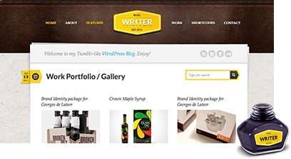 Personal WordPress Theme