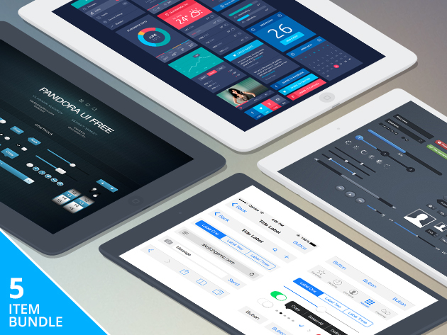 Pay What You Want: iOS Designer Bundle
