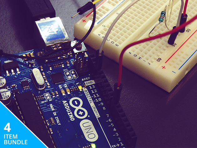 Complete Arduino Starter Kit & Course Bundle