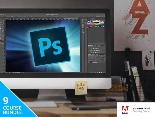 'Train Simple' Adobe Photoshop Bundle