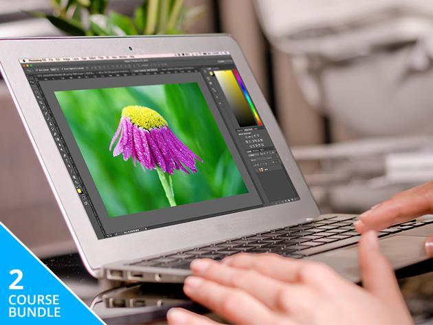Adobe Photoshop 2-Course Bundle