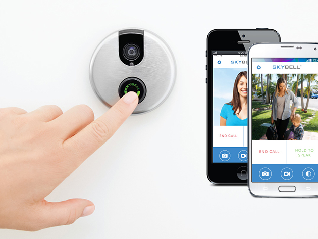 Skybell Wi-Fi Doorbell (Multiple Colors)