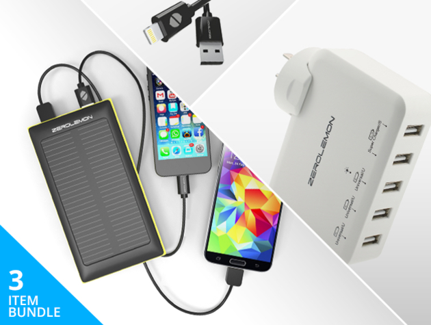 ZeroLemon Charging Gear Bundle