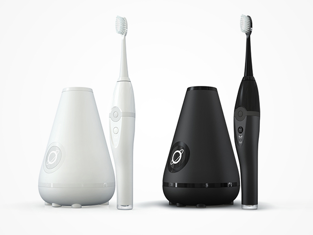 Aura Ultrasonic Toothbrush & Cleaning Station (Multiple Colors)