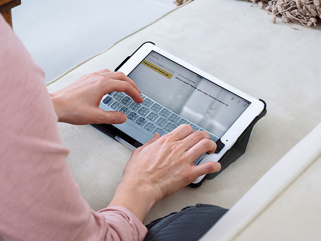 Touchfire iPad Case & Accessory Bundle