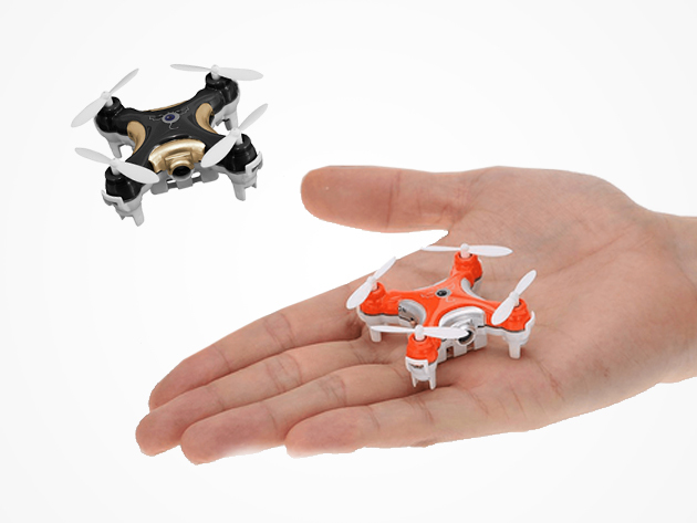 World's Smallest Camera Drone + 2GB Micro SD Card