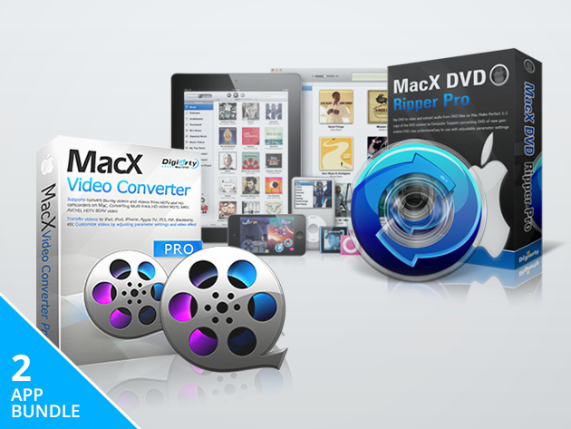 The MacX DVD Video Converter Pro Pack
