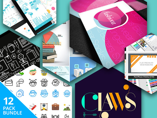 Pay What You Want: Design Asset Super Bundle