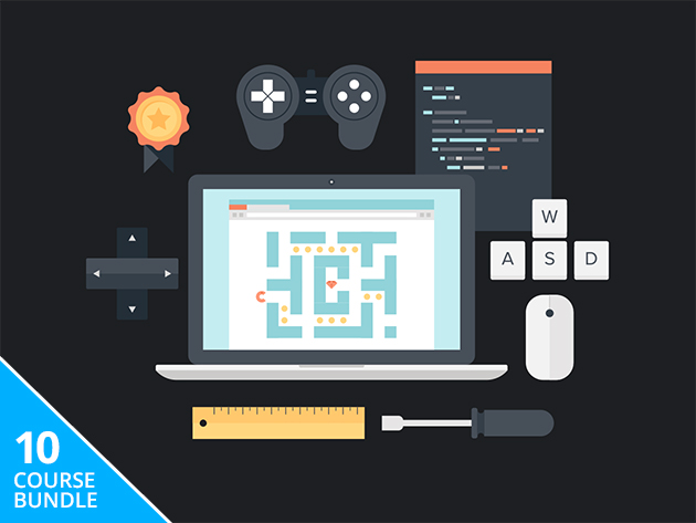 Pay what you want for 10 game development courses