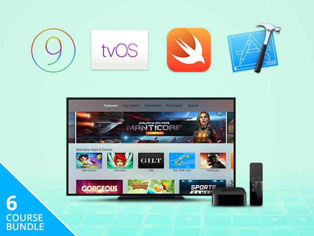 Learn how to develop Apple TV apps for $29
