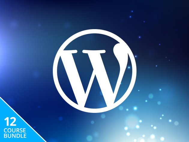 Get 12 WordPress courses for $49
